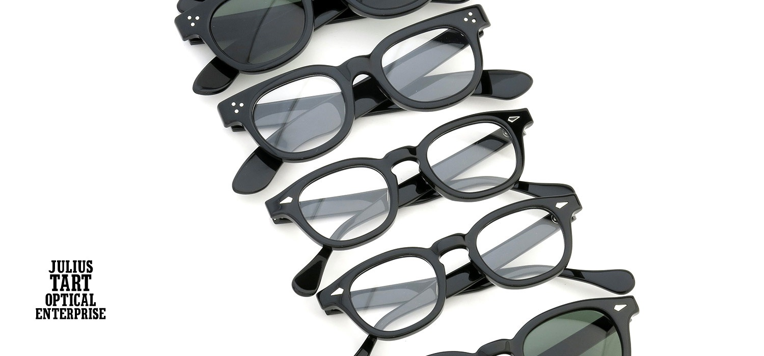 JULIUS TART OPTICAL 再入荷