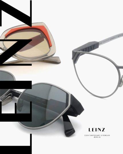 LEINZ (ラインツ) 3D出力によるアイウェアデザインの新しい展開 /opti 2020 vol.06