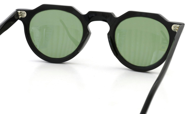 Lesca Vintage Crown-Panto type-A Black 6mm (v16) Green Lense 7