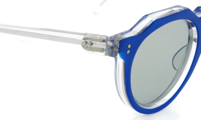 Lesca Vintage Crown-Panto Blue-Clear 6mm (v1) 5