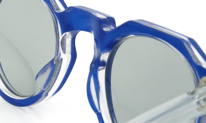 Lesca Vintage Crown-Panto Blue-Clear 6mm (v1) 8