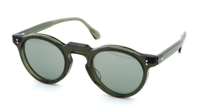 lesca-vintage crown-panto green 6mm v3
