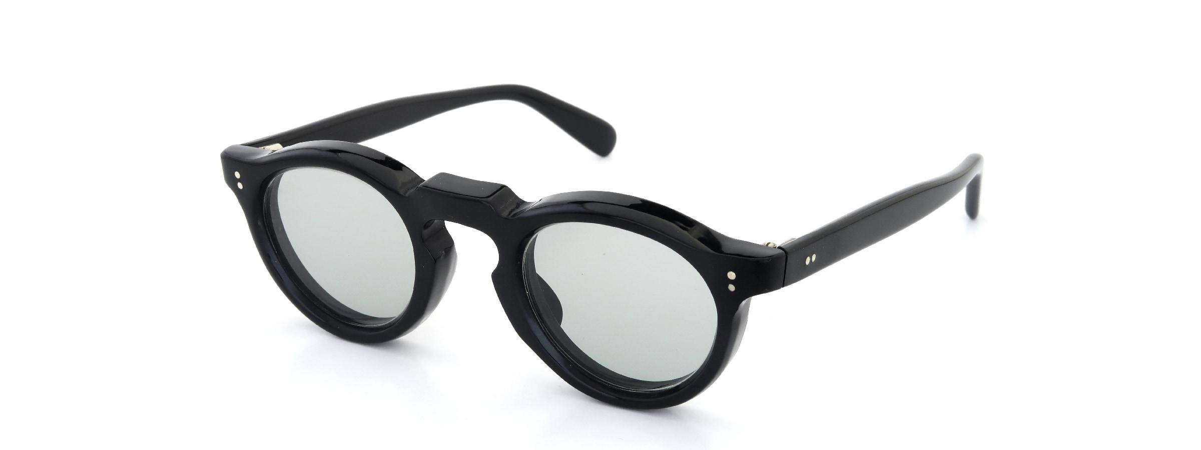 Lesca Vintage Panto Black 8mm (v4)