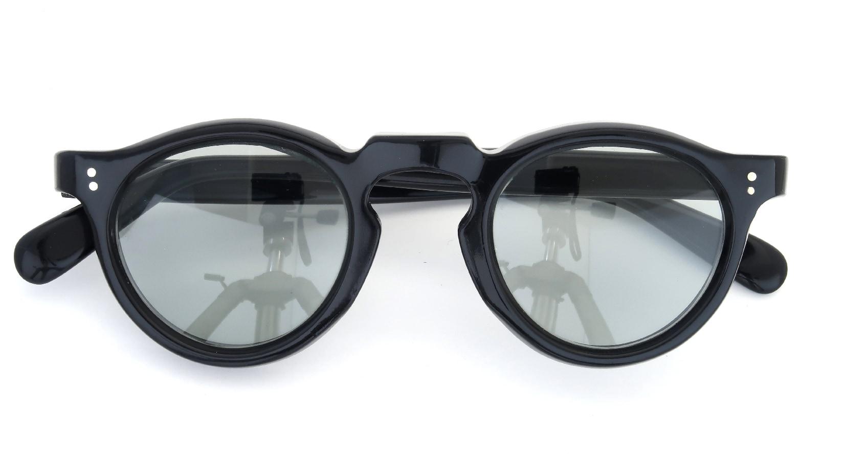 Lesca Vintage Panto Black 8mm (v4) 4
