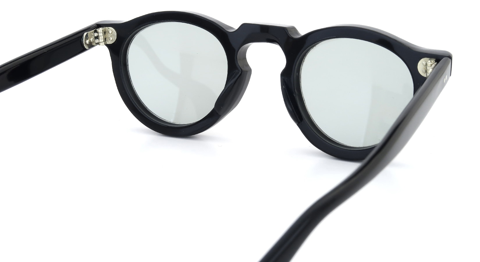 Lesca Vintage Panto Black 8mm (v4) 7