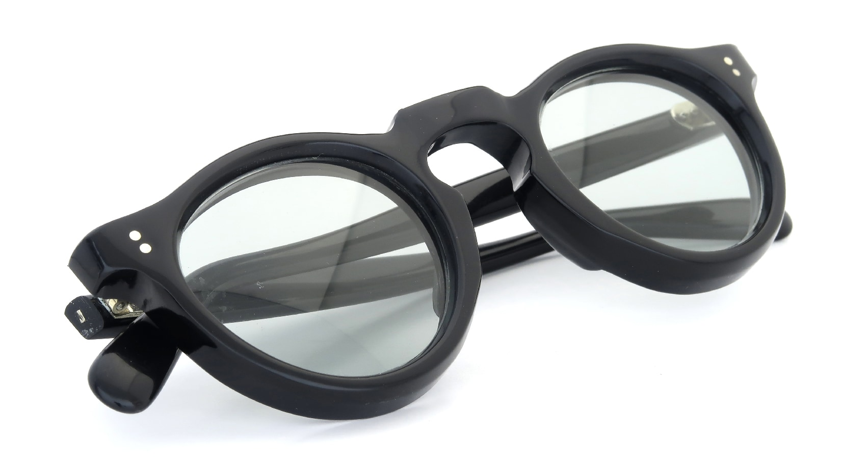Lesca Vintage Panto Black 8mm (v4) 9