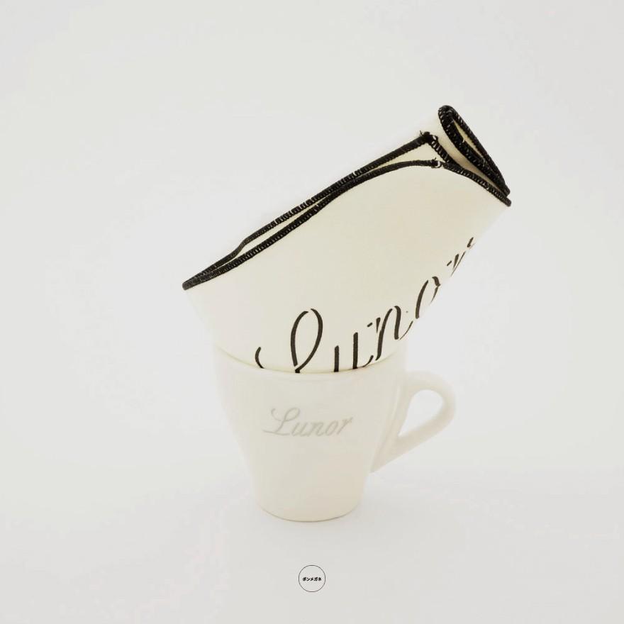 Lunor ルノア 非売品 オリジナルマグカップ&オリジナル大判メガネふき
