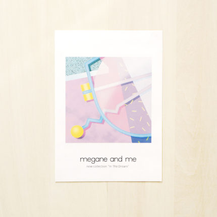 """megane and me 2016F/W新作受注会 """"In The Dream"""""""