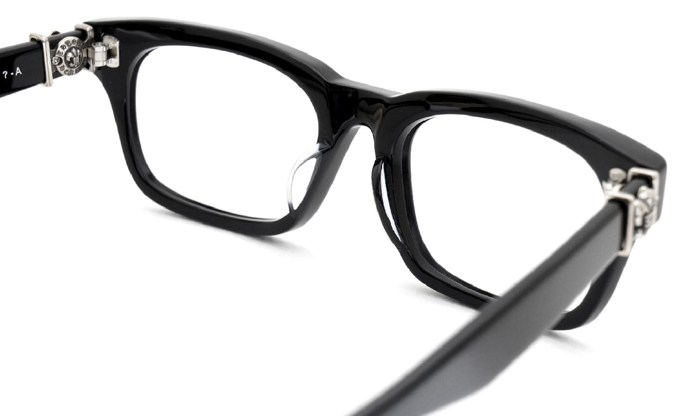 眼鏡の鼻あて・パット交換 CHROME HEARTS GITTIN-ANY-A BLACK 前