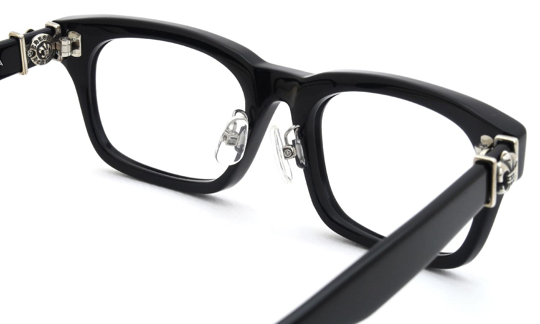 眼鏡の鼻あて・パット交換 CHROME HEARTS GITTIN-ANY-A BLACK 後