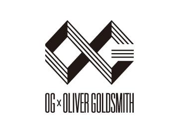 OG×OLIVERGOLDSMITH logo