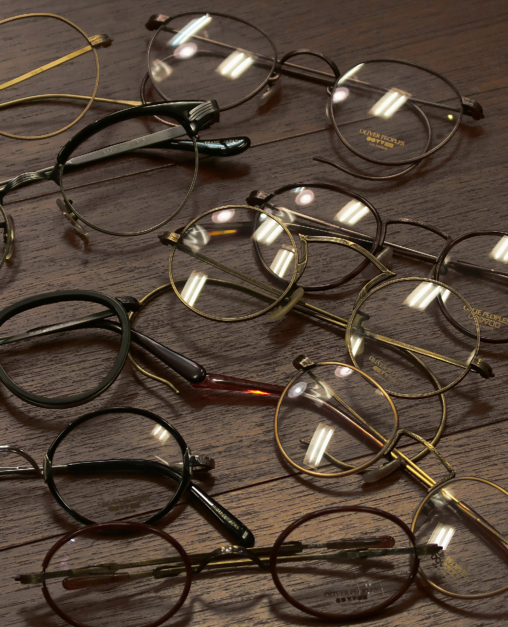 OLIVER PEOPLES 1980s-1990s Vintage-Archive Select 03
