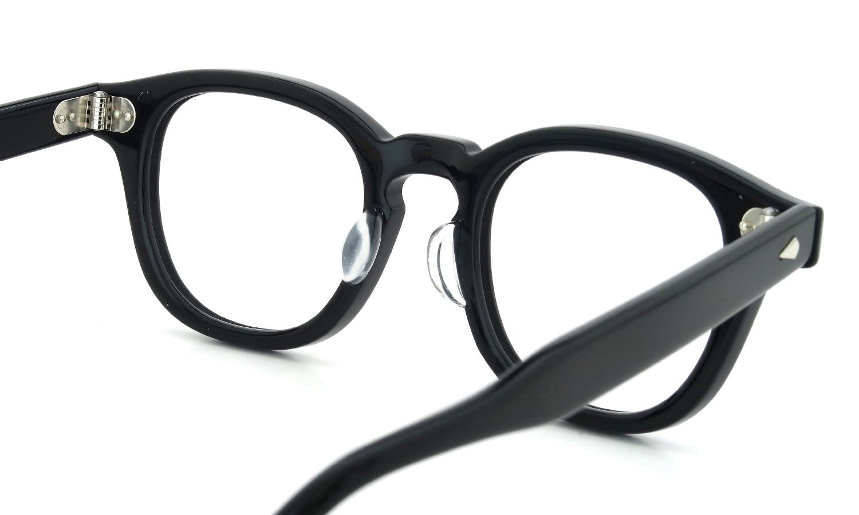 眼鏡の鼻あて・パット交換 JTO AR46 Black 後