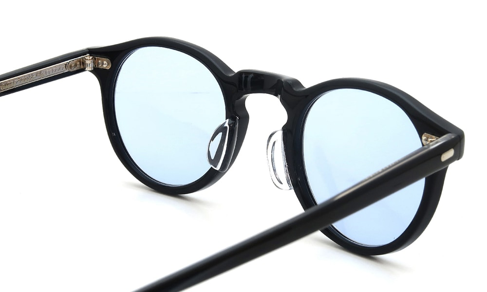 鼻盛り加工 OLIVER PEOPLES Gregory-Peck BLACK後