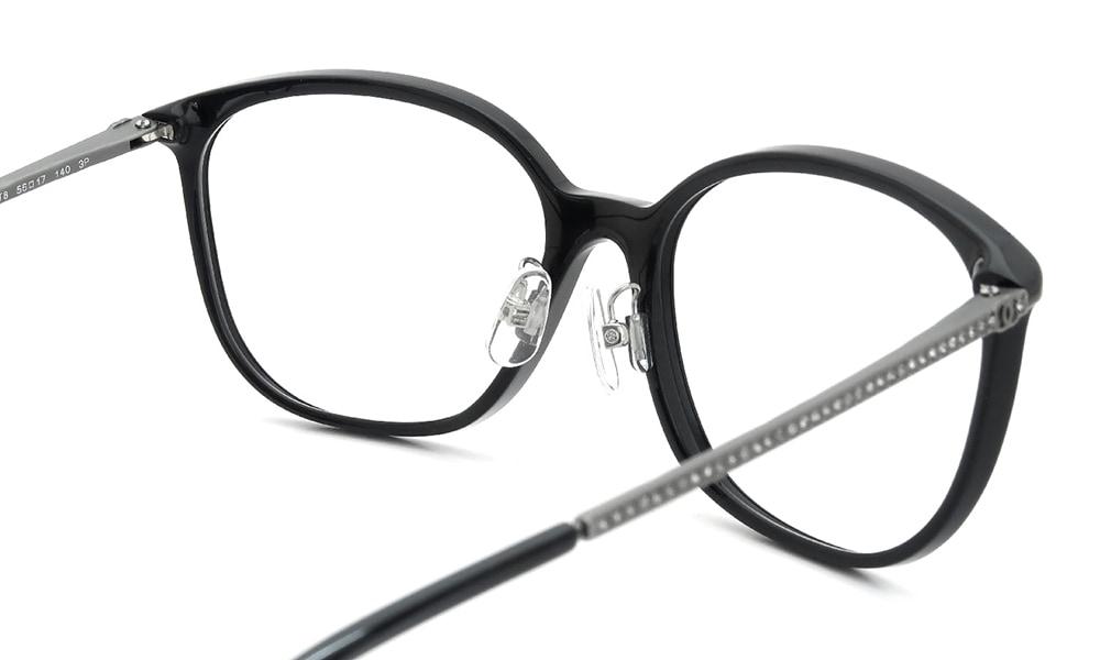 眼鏡の鼻あて・パット交換 CHANEL 5291-B-A 後