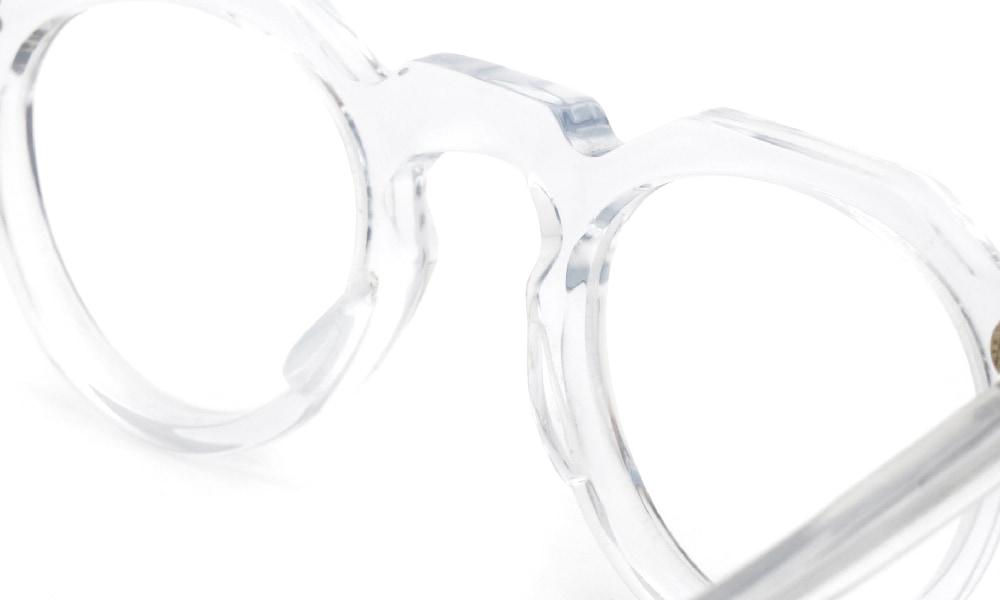 眼鏡の鼻あて・パット交換Lesca VINTAGE CROWN-PANTO 6mm CLEAR前
