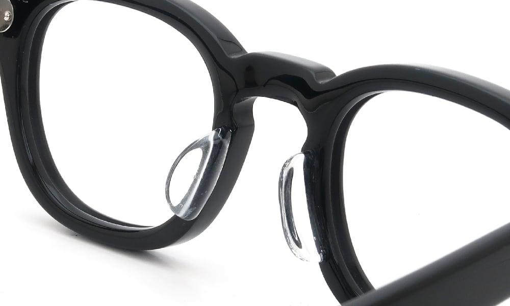 眼鏡の鼻あて・パット交換 JULIUS TART OPTICAL AR-42 BLACK 後