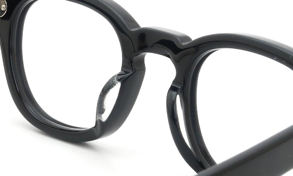 眼鏡の鼻あて・パット交換 JULIUS TART OPTICAL AR-42 BLACK 前
