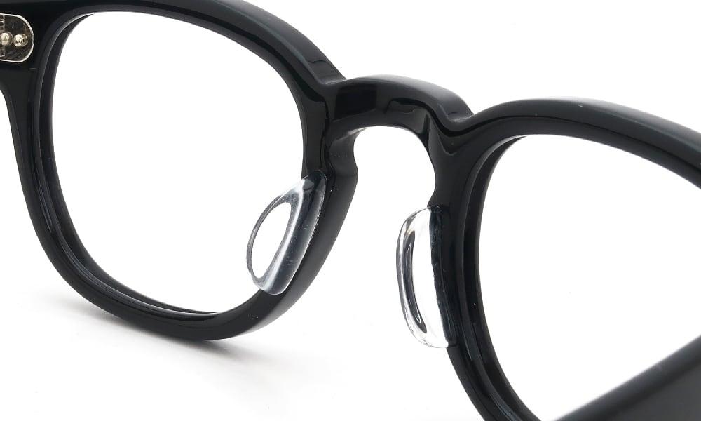 眼鏡の鼻あて・パット交換 MOSCOT LEMTOSH 44 BLACK 後