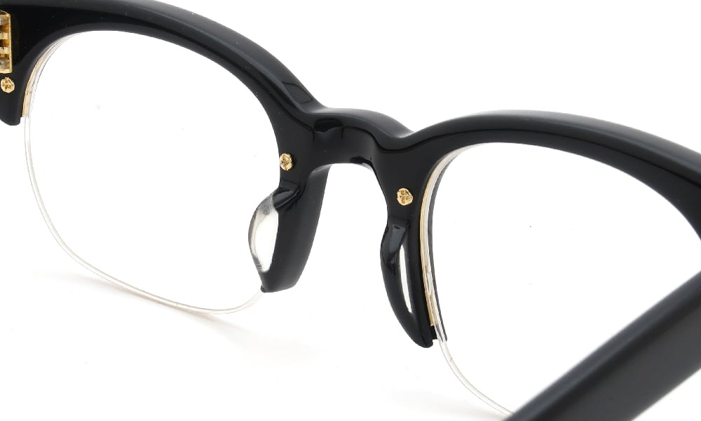 眼鏡の鼻あて・パット交換 Oliver Goldsmith NSL3 Nero 前