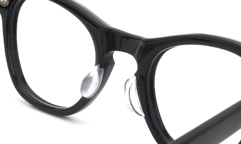 眼鏡の鼻あて・パット交換 TART OPTICA vintsge Leading LIZ BK 後