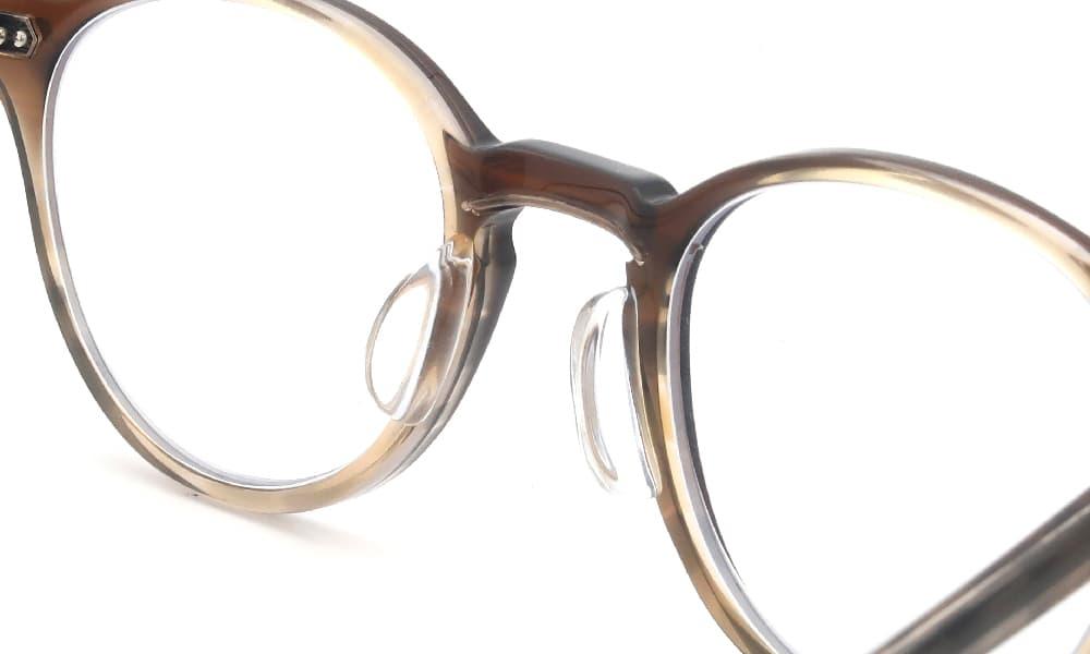 眼鏡の鼻あて・パット交換 Mr.Leight MARMONT OAKWOOD 後
