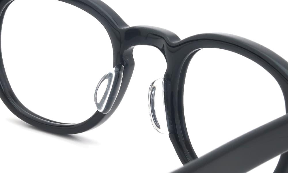 鼻盛り加工 MOSCOT model: LEMTOSH 46 color: Black 後
