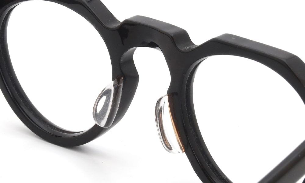 眼鏡の鼻あて・パット交換 Lesca VINTAGE Crown Panto 6mm Dark Demi 後