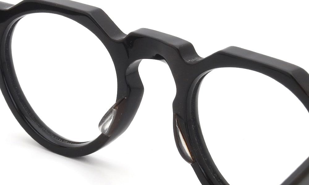 眼鏡の鼻あて・パット交換 Lesca VINTAGE Crown Panto 6mm Dark Demi 前