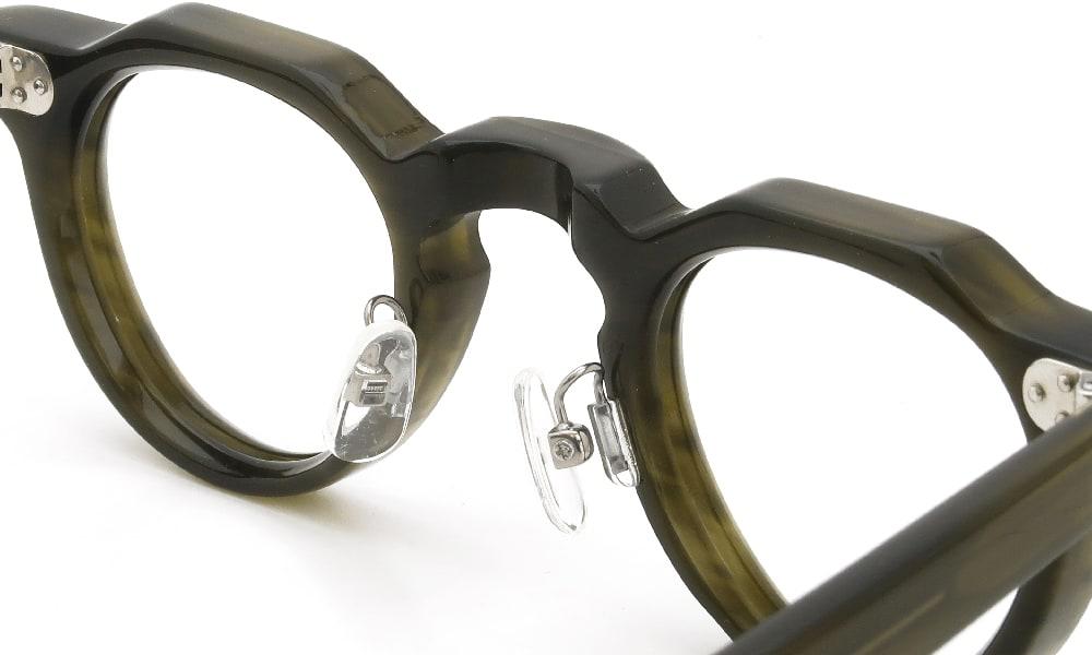 眼鏡の鼻あて・パット交換 Lesca LUNETIER BERTOLD C7 後