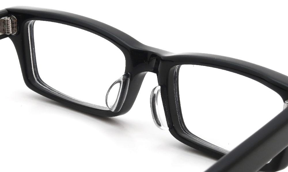 眼鏡の鼻あて・パット交換 EFFECTOR whammy BK 後
