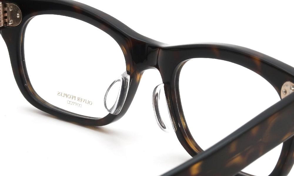 眼鏡の鼻あて・パット交換 OLIVER PEOPLES Arite-J 362 後