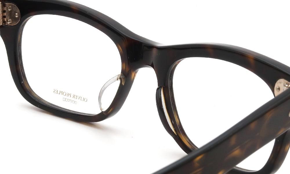 眼鏡の鼻あて・パット交換 OLIVER PEOPLES Arite-J 362 前