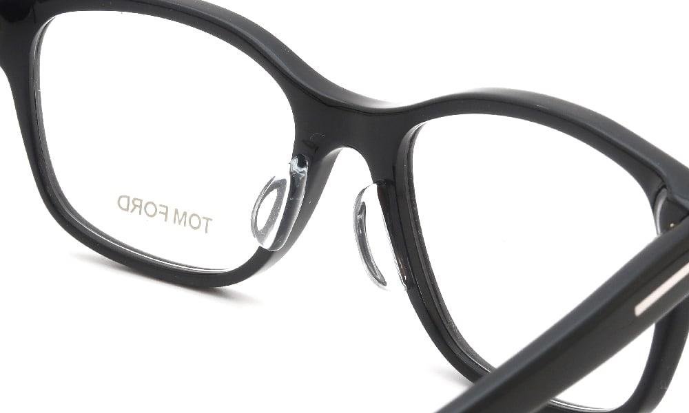 眼鏡の鼻あて・パット交換 TOM-FORD TF5196 001 後