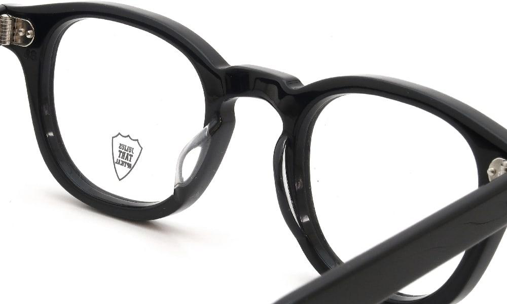眼鏡の鼻あて・パット交換 JULIUS TART OPTICAL AR-46-24 BLACK PL-102A 前