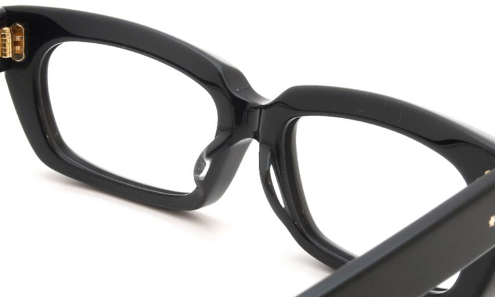 眼鏡の鼻あて・パット交換 Oliver Goldsmith KOLUS-s Nero 前