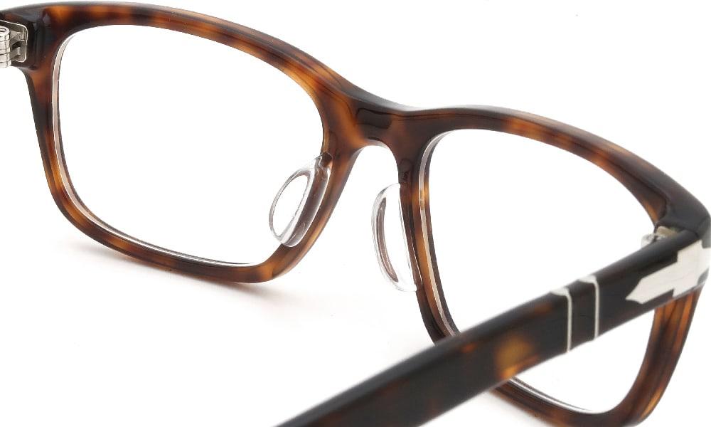 眼鏡の鼻あて・パット交換 Persol 3012-V 24 後
