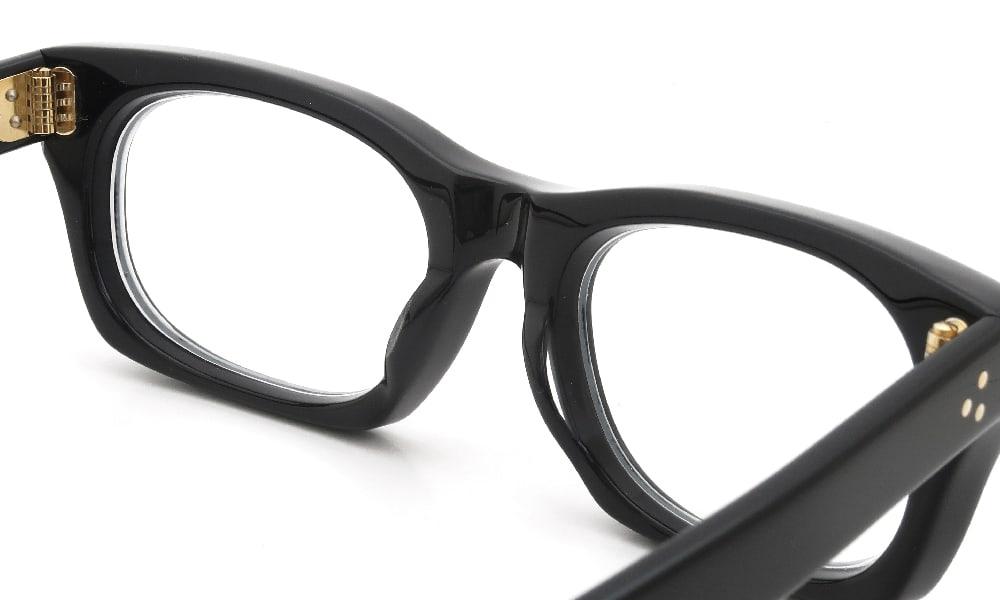 眼鏡の鼻あて・パット交換 Oliver-Goldsmith VICE CONSUL-s Nero 前
