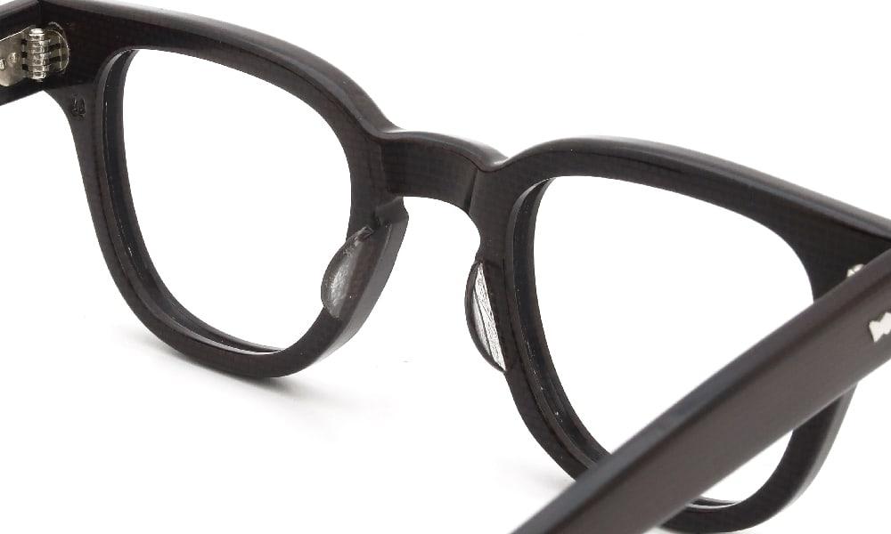 眼鏡の鼻あて・パット交換 Bacara BRYAN CODEBAN 44-24 CORDOVAN 前