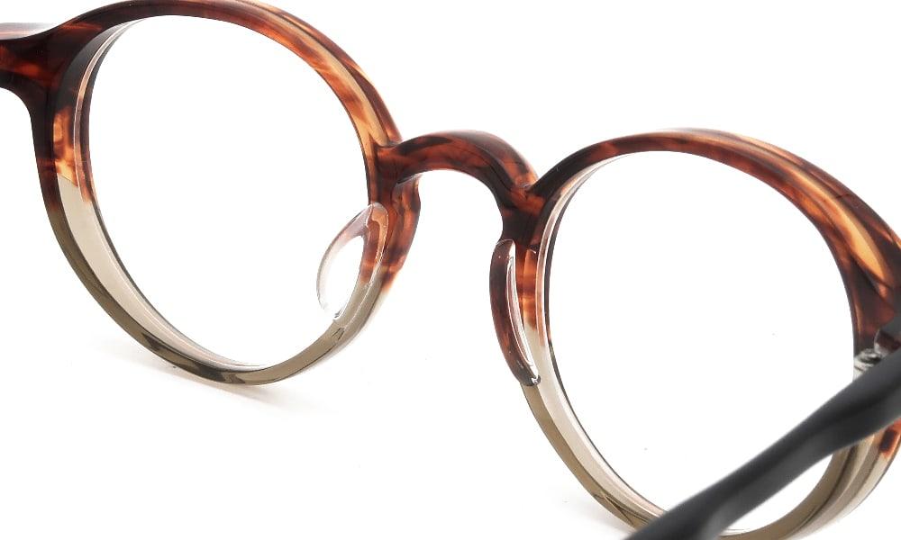 眼鏡の鼻あて・パット交換 RAMOT-EYEWEAR RM-004 col.N18 後