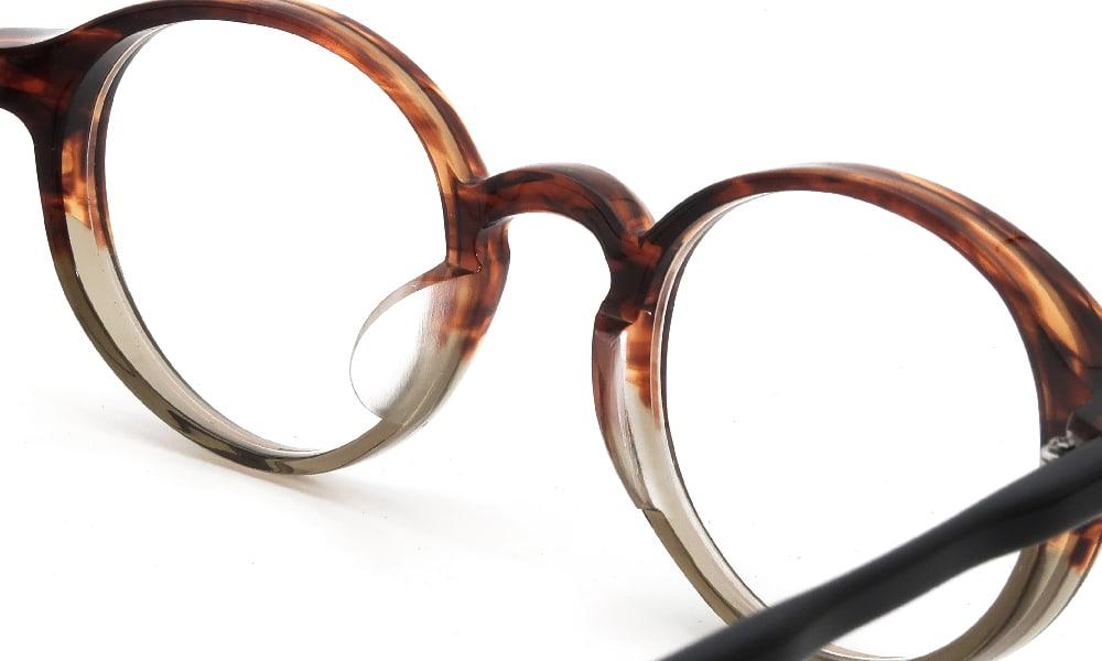 眼鏡の鼻あて・パット交換 RAMOT-EYEWEAR RM-004 col.N18 前