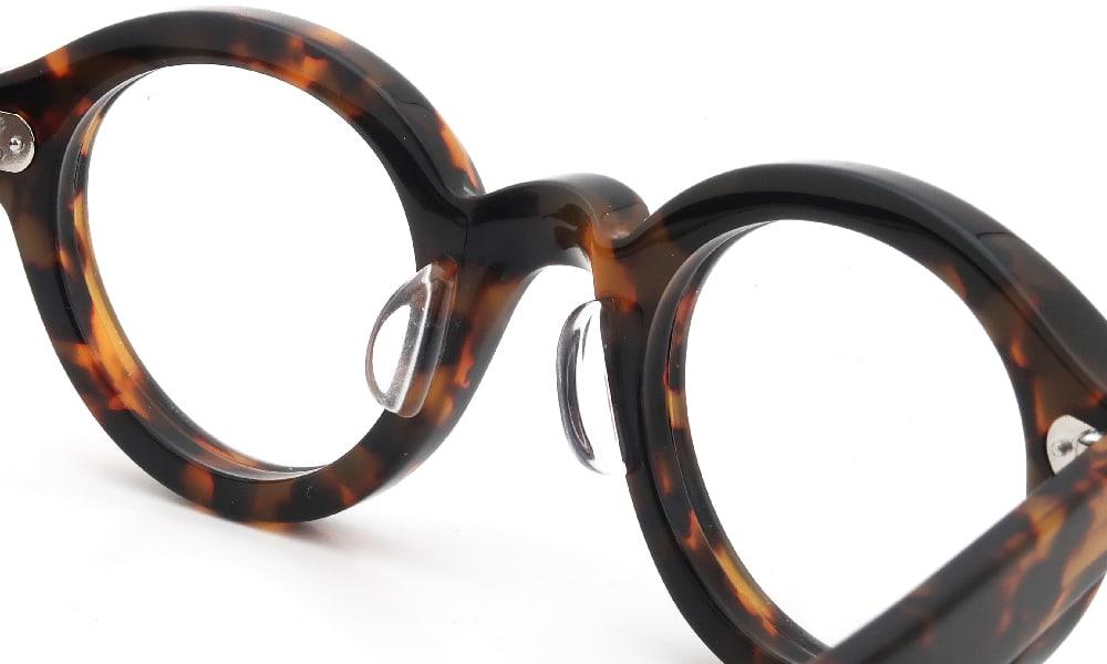 眼鏡の鼻あて・パット交換 Lesca La-Corbs H827 後