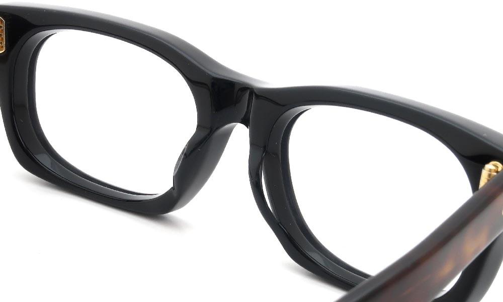 眼鏡の鼻あて・パット交換 Oliver Goldsmith VICE CONSUL-s Black-Tortoise 前