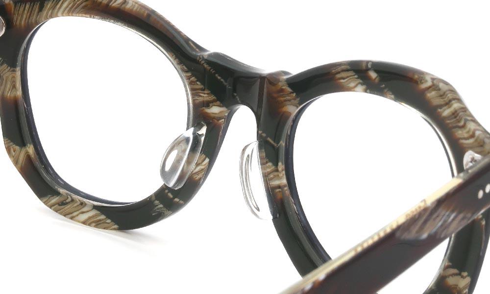眼鏡の鼻あて・パット交換 Lesca POP 32 後