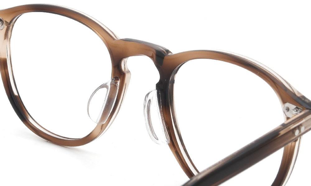 眼鏡の鼻あて・パット交換 GLCO HAMPTON KHT 後
