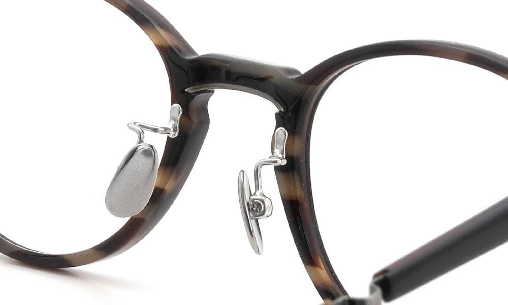 眼鏡の鼻あて・パット交換 Mr.Leight MARMONT-C BLACK-TORTOISE 後