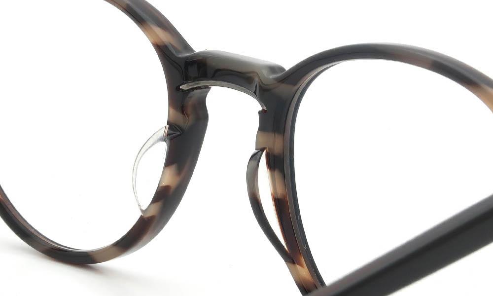 眼鏡の鼻あて・パット交換 Mr.Leight MARMONT-C BLACK-TORTOISE 前