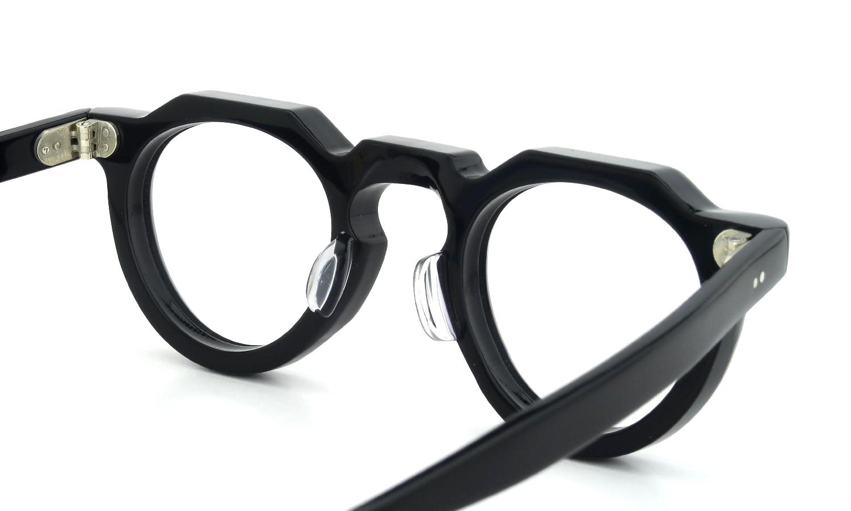 眼鏡の鼻あて・パット交換 Lesca_vintage Crown-Panto-8mm Black 前