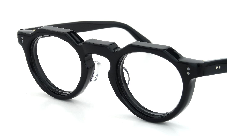 眼鏡の鼻あて・パット交換 Lesca_vintage Crown-Panto-8mm Black 裏