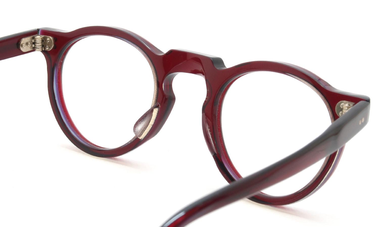 眼鏡の鼻あて・パット交換 Lesca_vintage Crown-Panto 6mm W.B.Y. sand 前